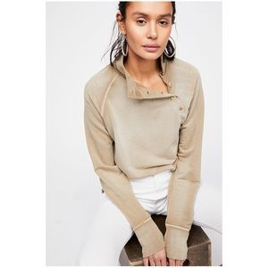 Free People I Can Be Your Pullover Shirt